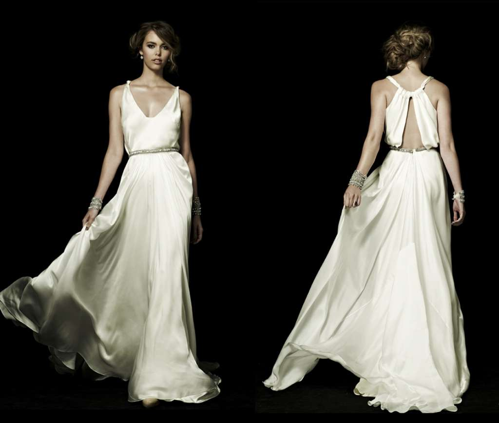 Badass + Living Badass Bridal Designer: Johanna Johnson.