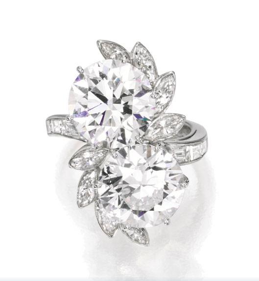 Lot-897-A-Platinum-and-Diamond-Ring-Van-Cleef-Arpels-New-York-1963