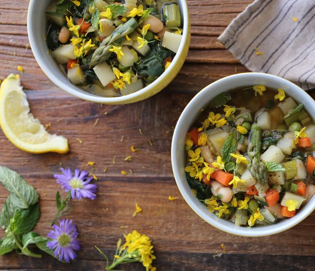 Hearty Spring Vegetable Soup